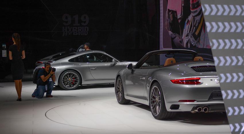 IAA 2015 – Porsche 911 & Mission E