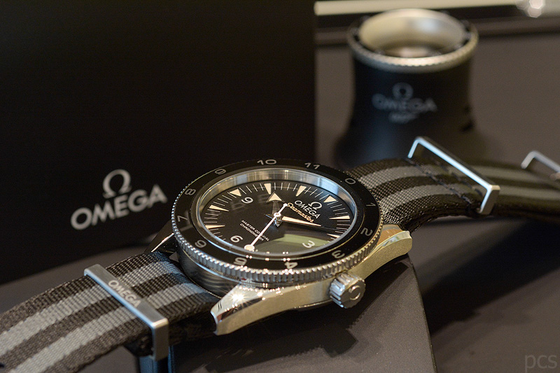 "Omega Seamaster 300 Master Co-Axial 41 MM ""Spectre"", Ref, 233.32.41.21.01.001"