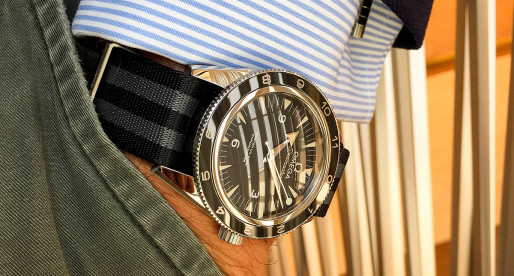 "Hands-on Omega Seamaster 300 ""SPECTRE"""