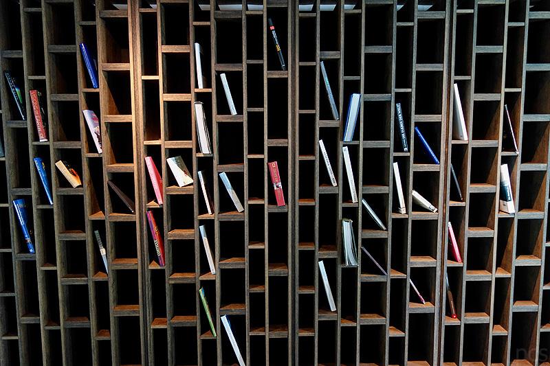 Architektur Bibliothek Wiesergut Hotel Hinterglemm