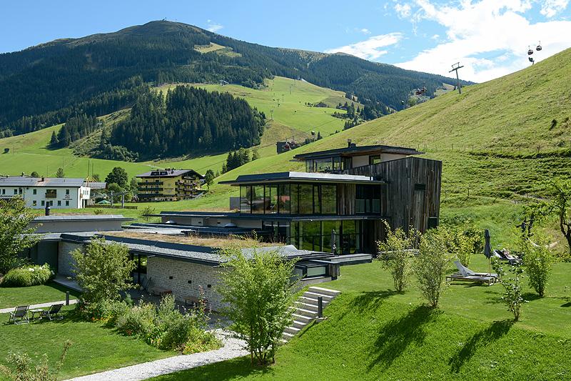 Gutshof Suite Spa Bereich Hotel Wiesergut