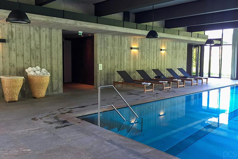 Luxify Reisebericht Hotel Test Wiesergut SPA Bereich Pool