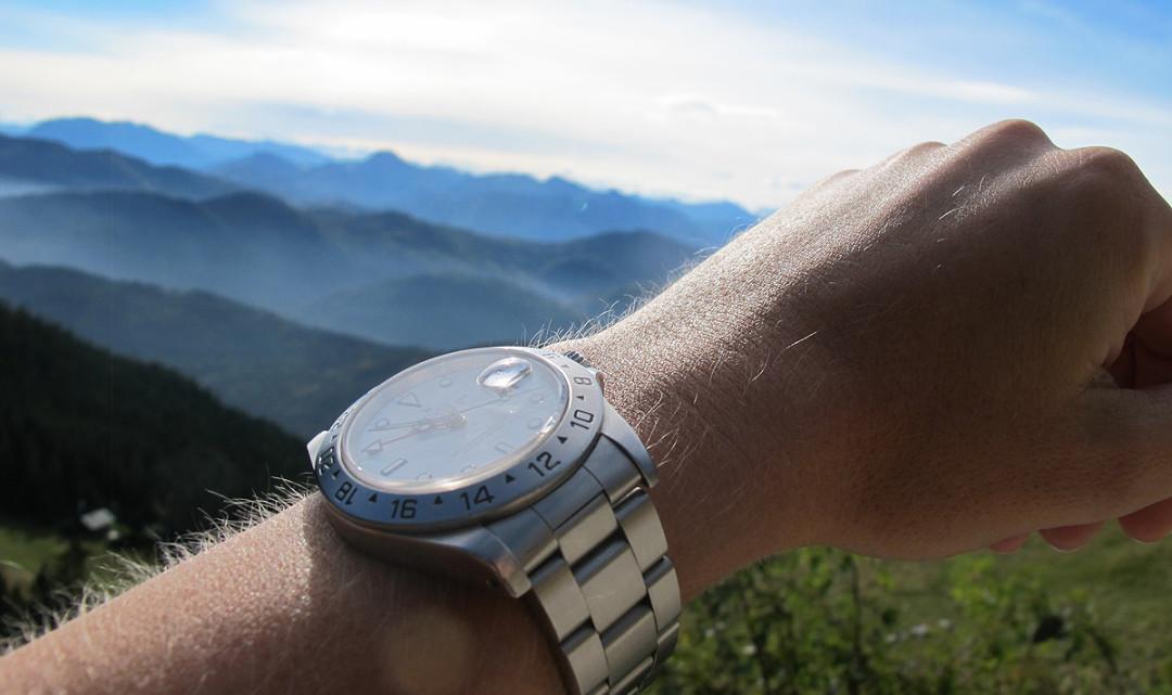 Lieblingsuhren: die Rolex Explorer II von alicia