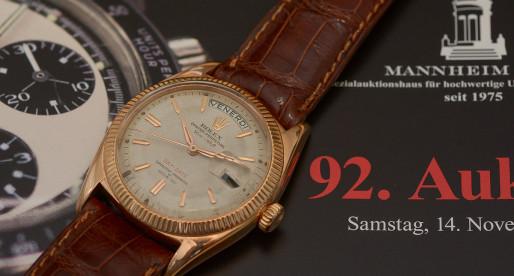 Eine ganz besondere Rolex Day-Date…