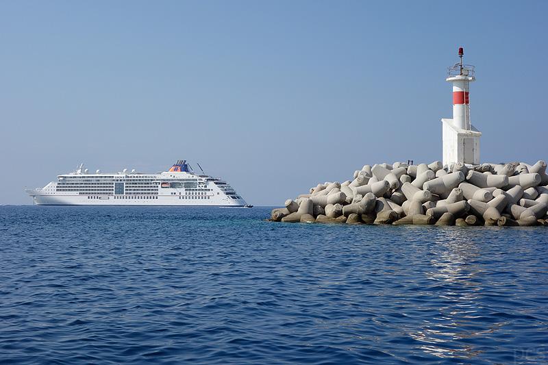 MS Europa 2 Lemnos Griechenland