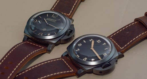 Hands-on Panerai Luminor 1950 3 Days Titanio DLC