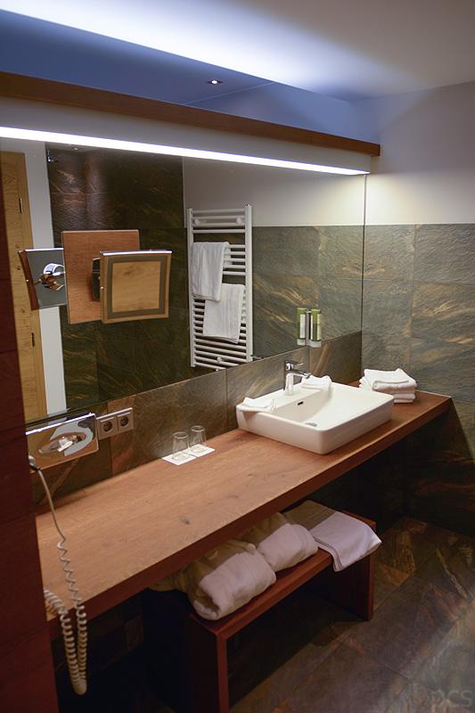 Regenwalddusche Test : luxify Hoteltest: Das.Goldberg, Bad Hofgastein