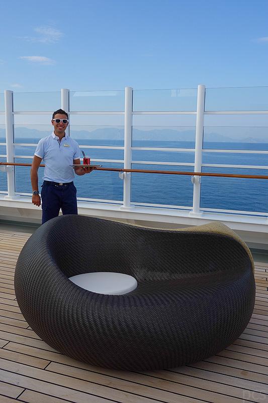 Luxify Reisebericht Kulinarik MS Europa 2 Luxus Kreuzfahrtschiff