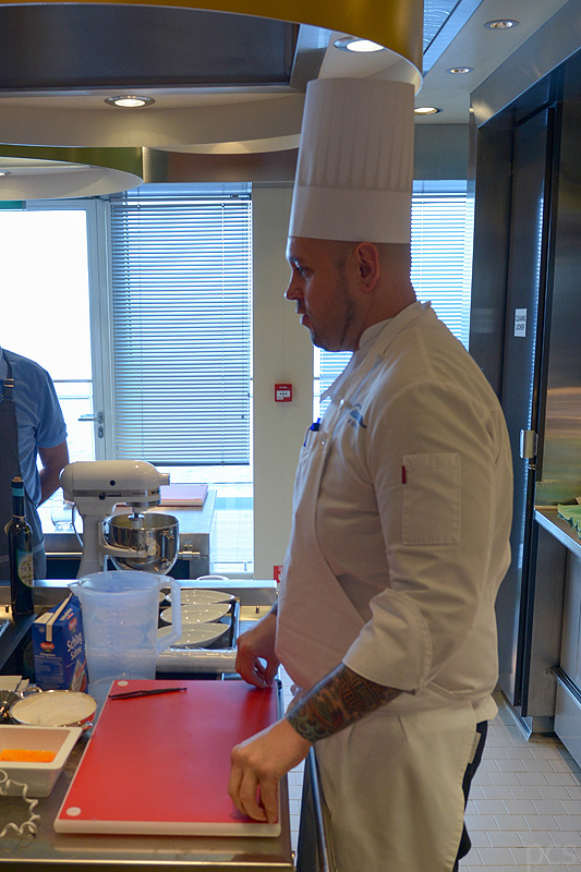 MS Europa 2 Kochschule Sous Chef Stefan Sköries