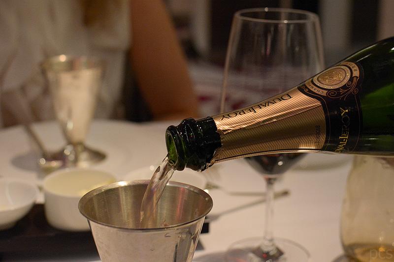 Europa 2 Sorbet mit Champagner