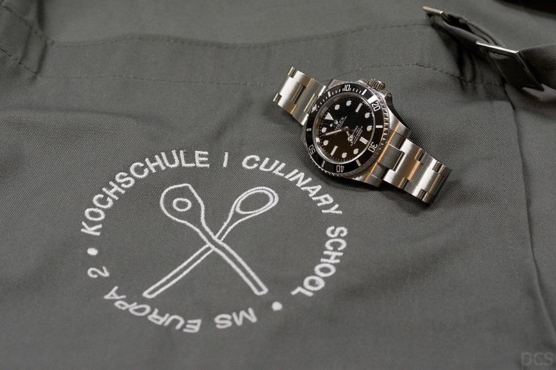 Europa 2 Kochschule Rolex Submariner 114060