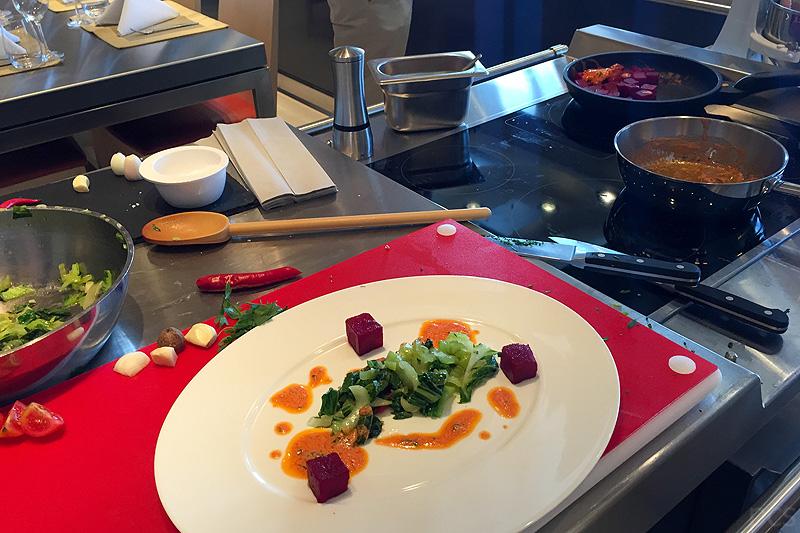 Luxify Reisebericht Kulinarik MS Europa 2 Kochstudio