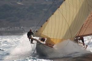 Les Voiles de St. Tropez 2015 - klassische Yachten