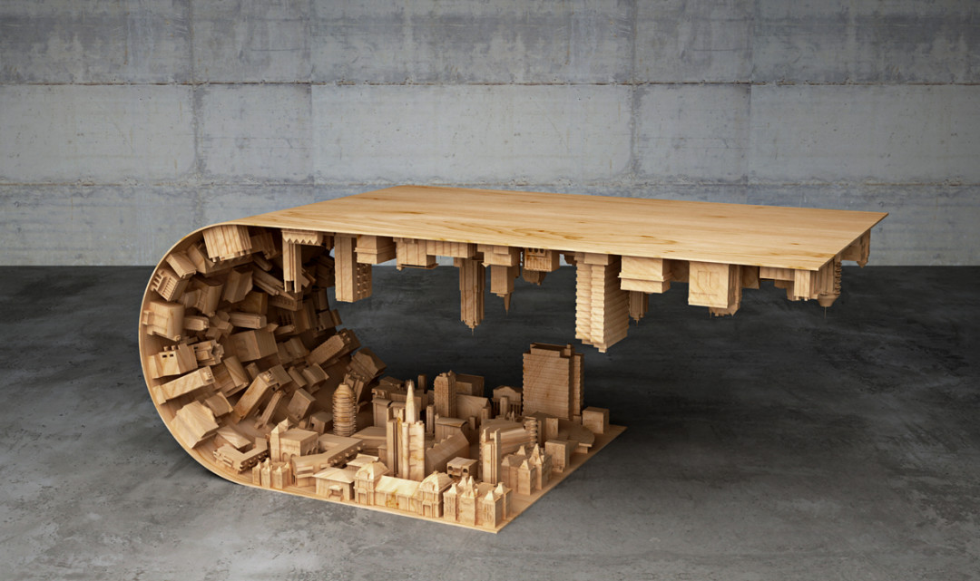 Mousarris Wave City Coffee Table