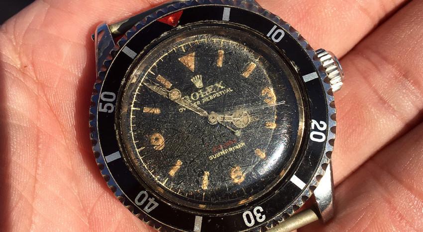 Rolex – eine einzigartige Vintage Military Submariner
