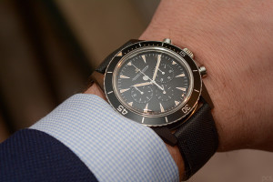 Hands-on Jaeger-LeCoultre Deep Sea Chrono