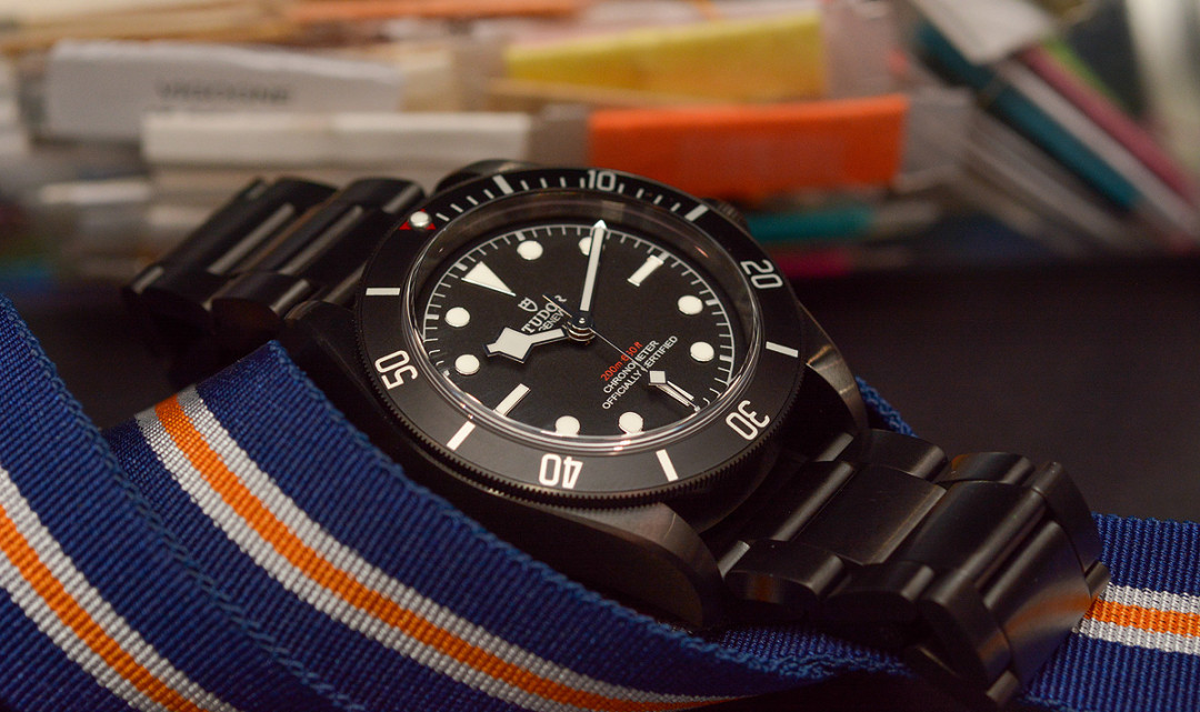 Hands-on Tudor Heritage Black Bay Baselworld 2016