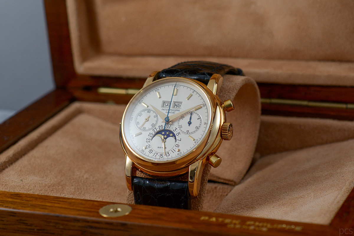 "Hands-on Patek Philippe 2499/100 ""Beyer"""