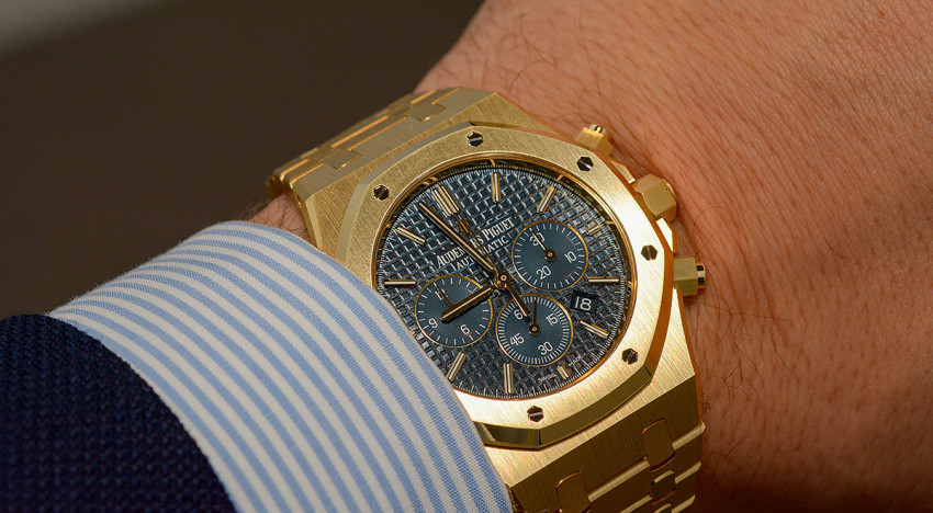 Hands-on AP Royal Oak Chrono 26320