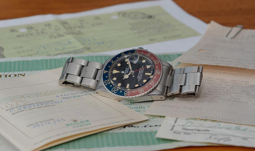 Rolex bei der 93. Dr. Crott Auktion