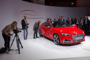 Weltpremiere Audi A5 & S5 Coupé