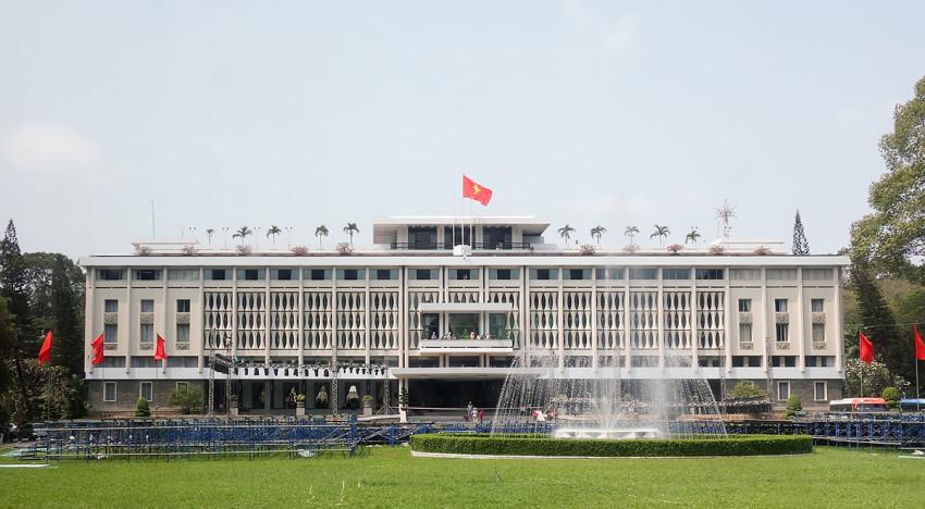 Der Präsidentenpalast von Saigon