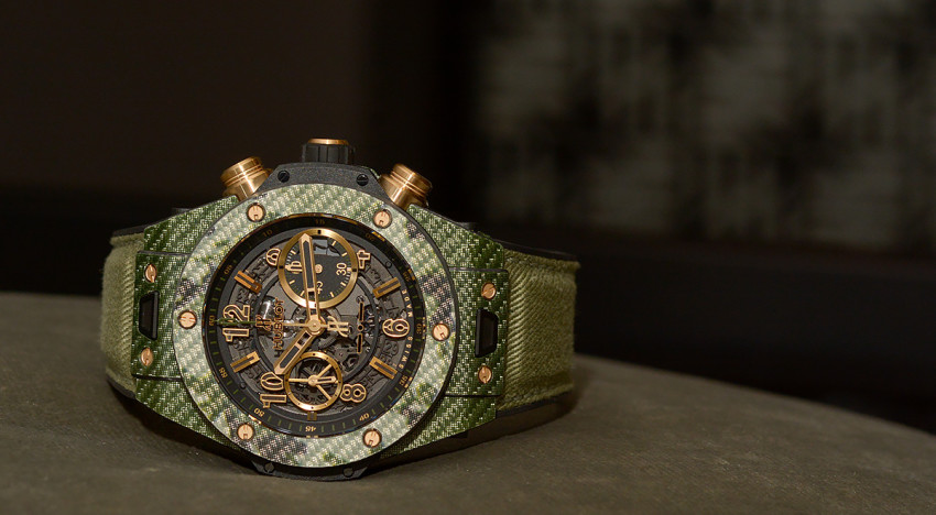 Hands-on Hublot Unico Italia Independent