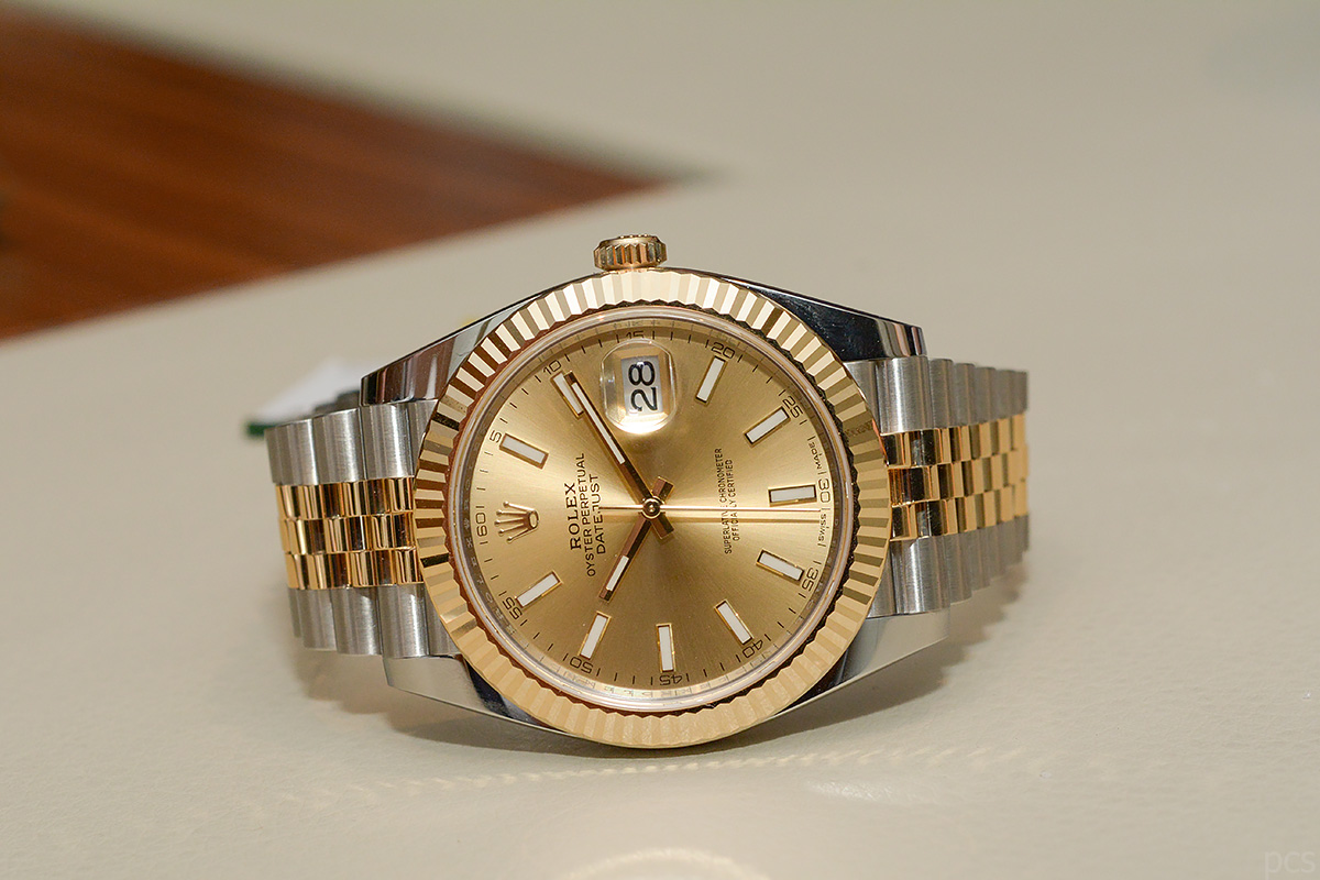 Rolex: Datejust II vs. Datejust 41