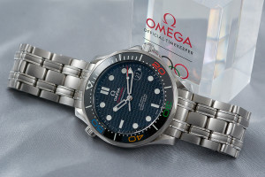 Hands-on Omega Seamaster Rio 2016