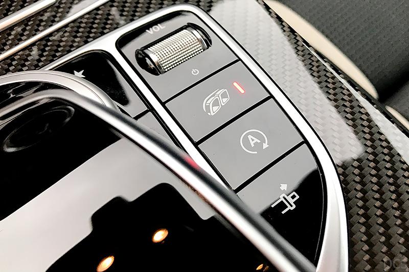Schalter Sport-Abgasanlage Mercedes AMG C 63 S