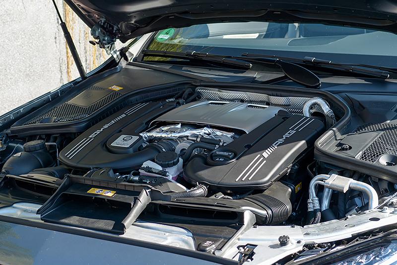 Motor Mercedes-AMG C63S Cabrio