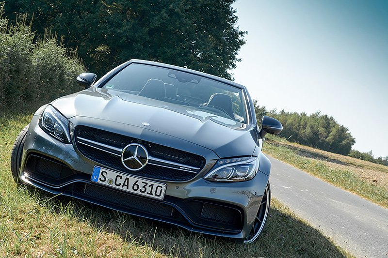 Luxify Roadtrip Mercedes-AMG C 63 S Cabriolet Auto Test