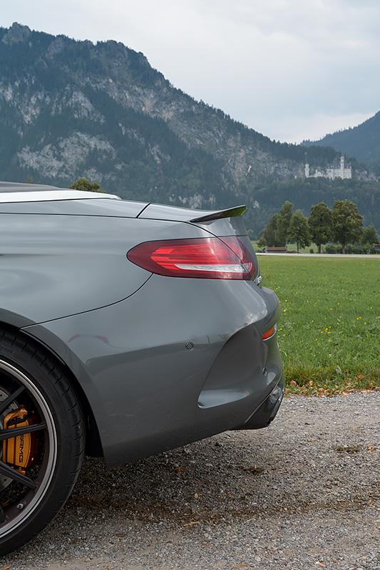 Mercedes-AMG C63S Cabrio Schloss Neuschwanstein