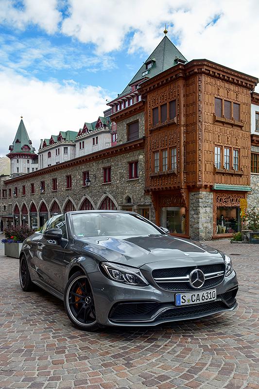 Mercedes-AMG C63S Cabrio St. Moritz