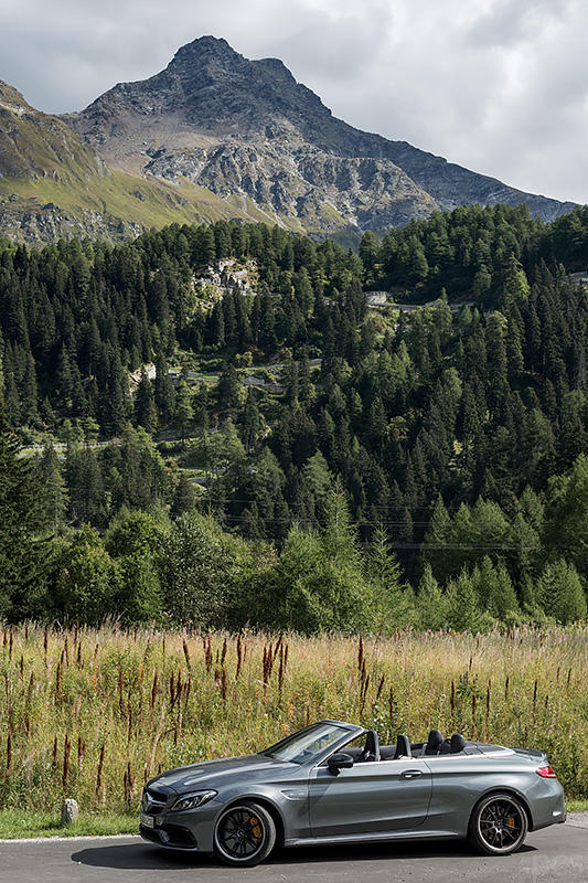 Mercedes-AMG C63S CabrioMalojapass