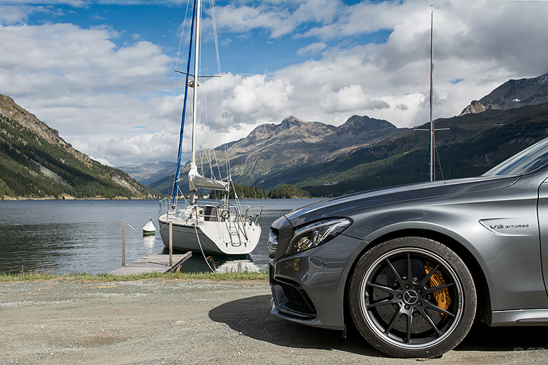AMG Carbon-Paket Exterieur I C63S Cabrio Silsersee