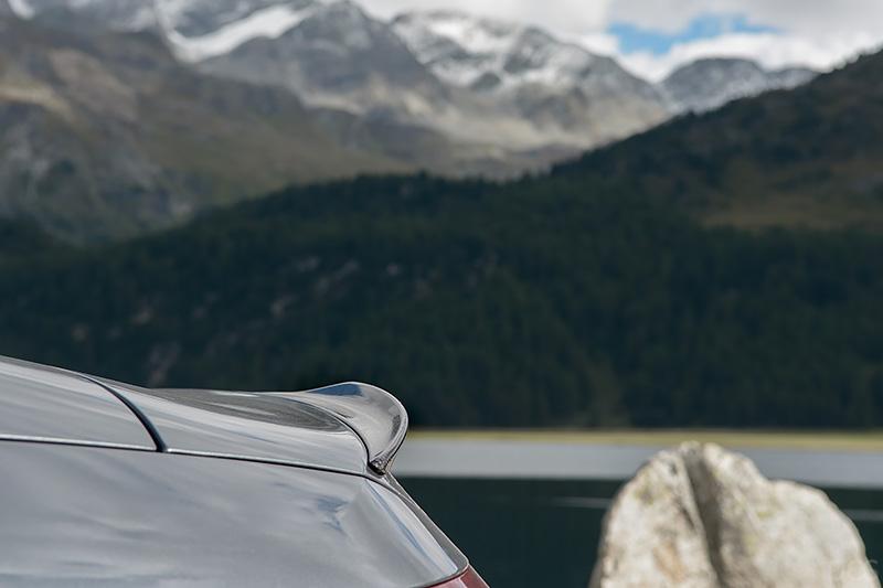 Spoiler AMG Carbon-Pakets Exterieur II C63S Cabrio