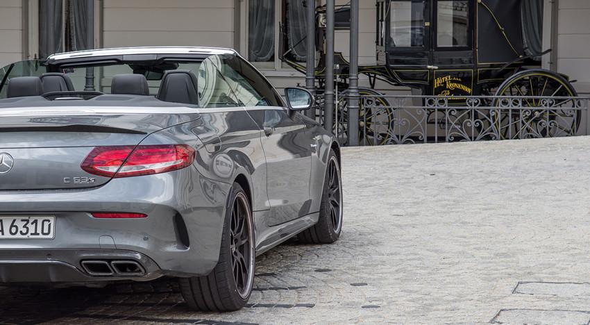 Test: Mercedes-AMG C63 S Cabrio – Teil 2