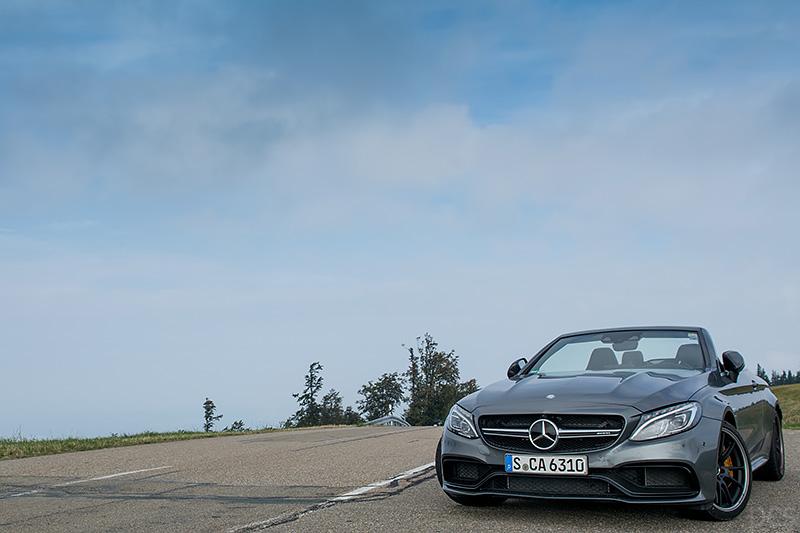 Mercedes-AMG C63S Cabrio Kandel Schwarzwald Pass