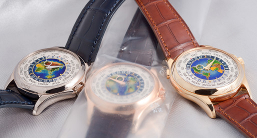 Hands-on Patek Philippe World Time 5131