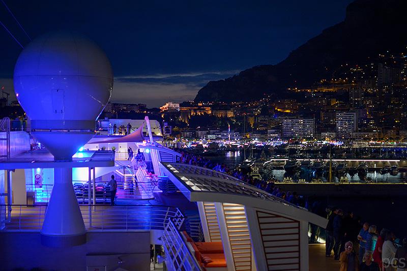 Abendstimmung in Monaco