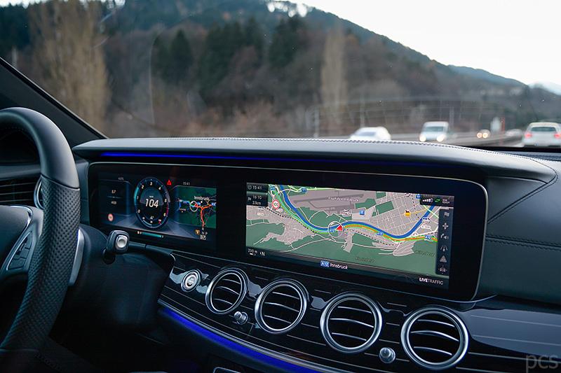 Cockpit Mercedes E-Klasse All-Terrain
