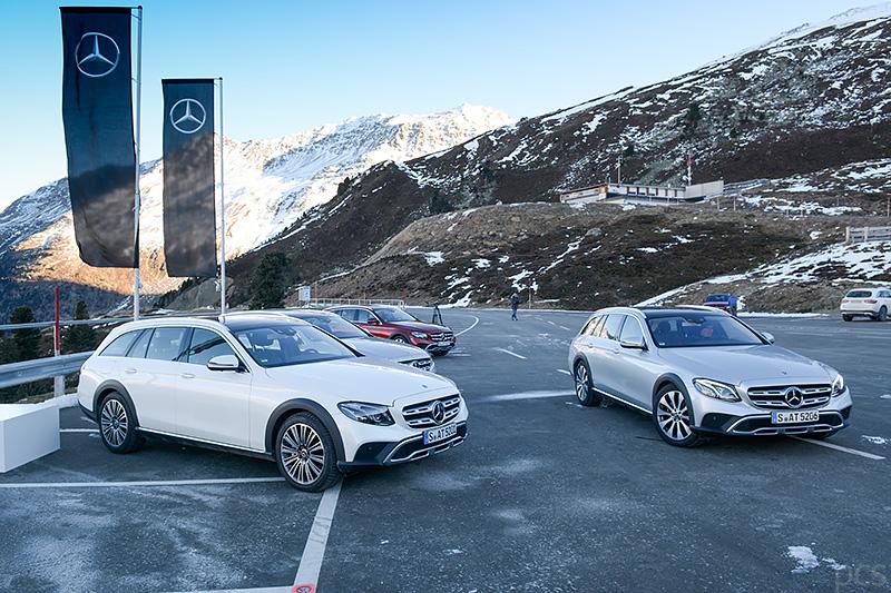 Felgen Varianten Mercedes E-Klasse All Terrain