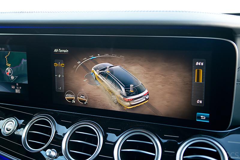 All-Terrain-Modus Dynamic Select Mercedes E-Klasse