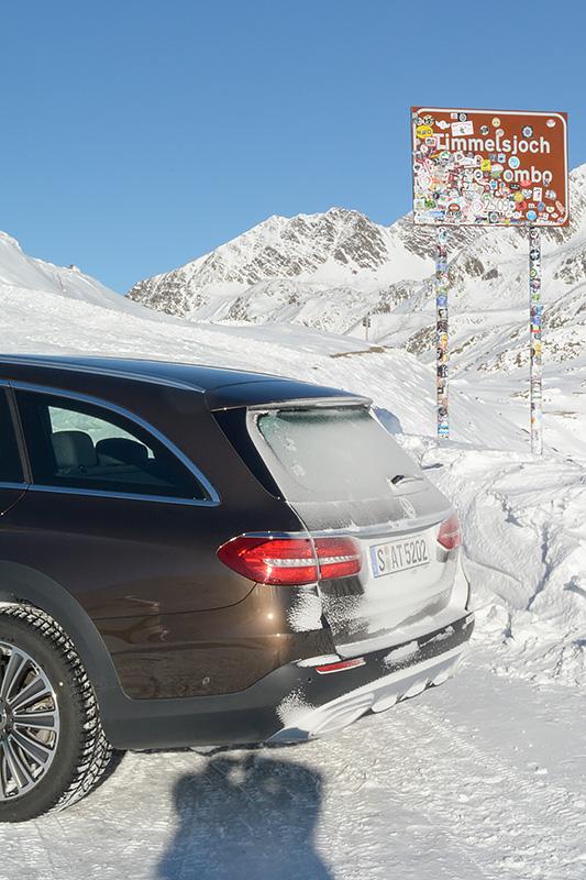 Mercedes E-Klasse All-Terrain Timmelsjoch