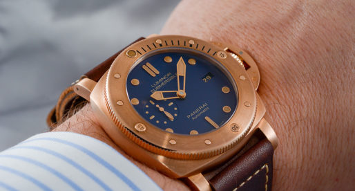 "Hands-on Panerai Submersible ""Bronzo"" 2017"