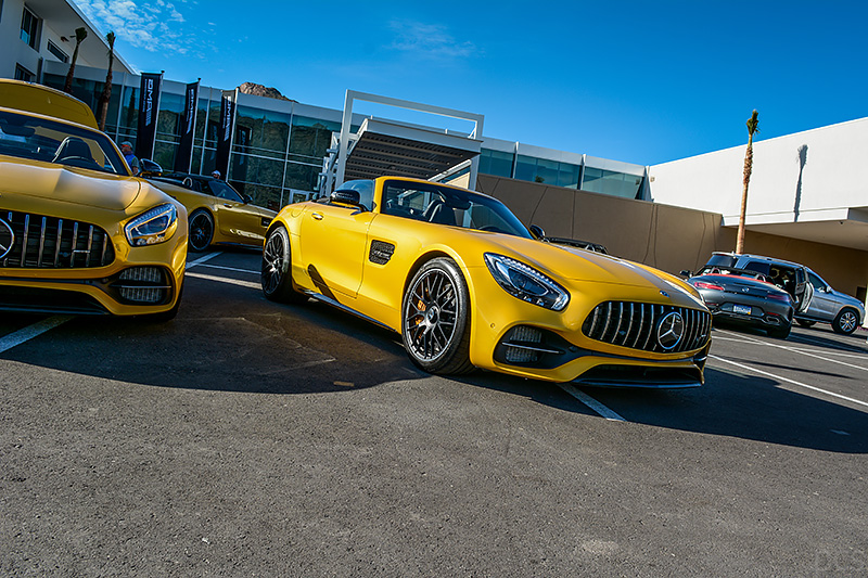 Mercedes-AMG GT C Roadster AMG solarbeam