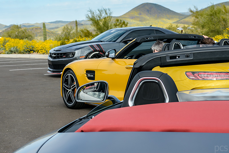 Luxify Roadtrip Arizona Mercedes AMG GT C Roadster