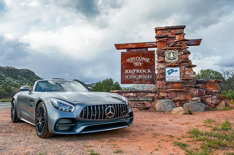 Mercedes-AMG GT C Roadster designo selenitgrau magno