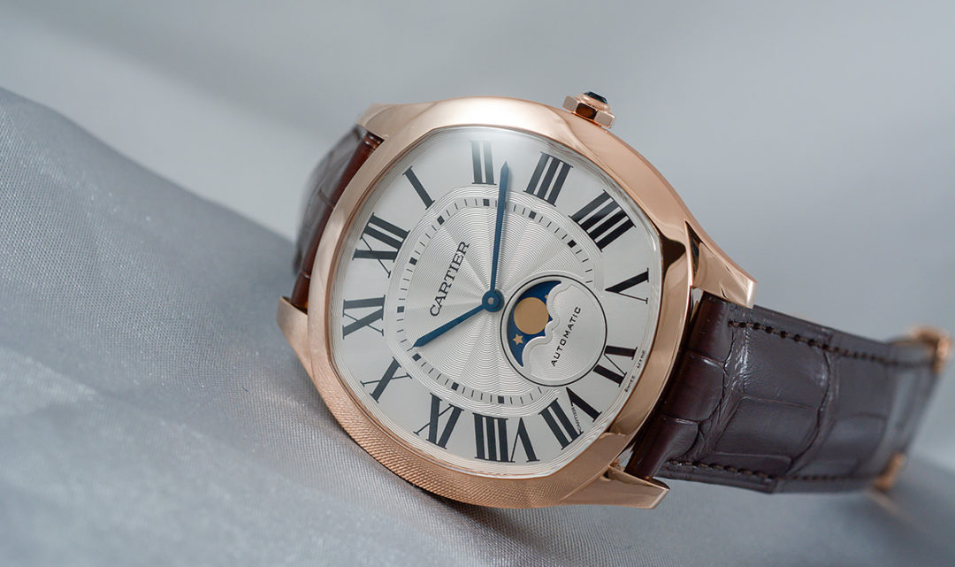 Hands-on Drive de Cartier Moon Phases